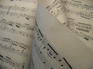 musical sheet music