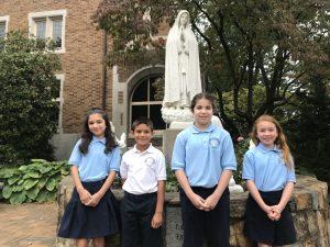 Recipient of Foundation Trust award to Annunciata School